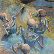 Blue Skelly Dancers