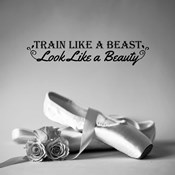 Train Like A Beast Grayscale