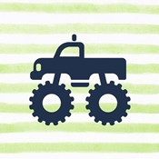 Monster Truck Graphic Green Part III