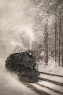Snowy Locomotive