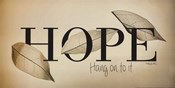 Hope - Hang On to It