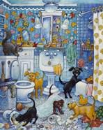 More Bathroom Pups