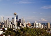 Seattle Cityscape, Seattle, Washington 02 - Color