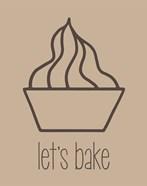 Let's Bake - Dessert V Brown