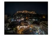 Greece Athens Acropolis Night 1