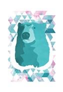 Cotton Candy Triangular Bear