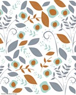 Fall Floral Pattern