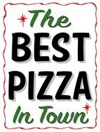 Best Pizza Wavy Border