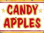 Candy Apples Rectangle