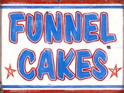 Funnel Cakes Rectangle