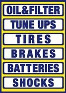 Auto Shop Boards Yellow Blue