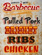 Barbeque World's Best Rusty