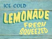 Lemonade Rustic - Rectangle