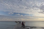 Higgs Pier People Sunset 2014