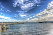 Water Sky One And Half Piers