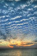 Key West Blue Sunset Vertical