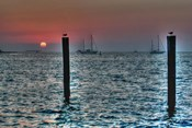 Key West Sunset Two Pilings