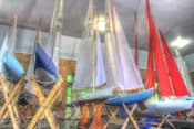 Model Sailboat Clubhouse