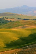 Tuscan Vertical Distant Hill Castle