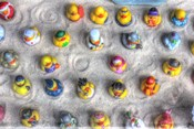 Rubber Duckies from Above