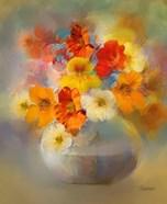 Bouquet Nasturtiums