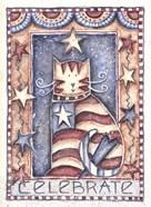Celebrate Patriotic Cat