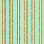 Golden Mint Stripes