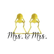 Wedding Couple - Mrs. Mrs.