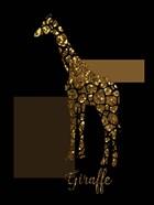 1 Gold Giraffe