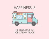 Ice Cream Truck Blue