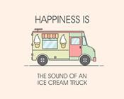 Ice Cream Truck Green