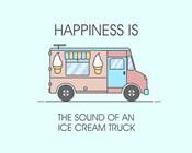 Ice Cream Truck Pink