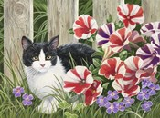 Minnie In the Petunias