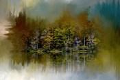 Abstract Summer Lake