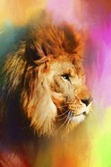 Colorful Expressions Lion