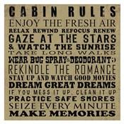 Cabin Rules