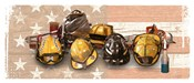 Firefighters Stand Tall