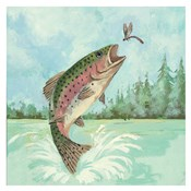 Trout Jumping