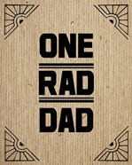 One Rad Dad - Brown Cardboard