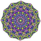 Beautifully Brilliant Mandala