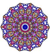Bubbles Mandala Overflowing