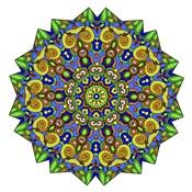 Colorful Calming Mandala