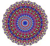 Coral Reef Mandala