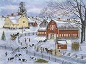 Dairy Farm at Christmas