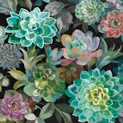 Floral Succulents v2 Crop