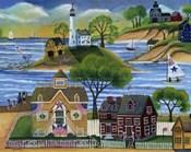 Americana Seaside Lighthouse