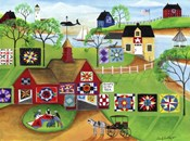 By The Sea Red Barn Quilt Makers