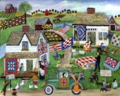 Country Folk Art Quilt Tag Sale