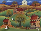Halloween Autum Pumpkin Farm