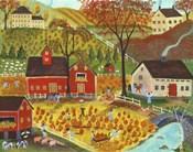 Country Farm Pumpkin Pickers